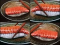 おいしそうなサーモン寿司…と思いきや!?
